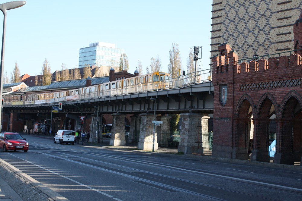 Berlinerblog.dk - Ubahn ved Oberbahn brücke