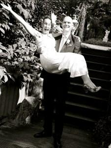 Brautpaar im Burghotel Strausberg