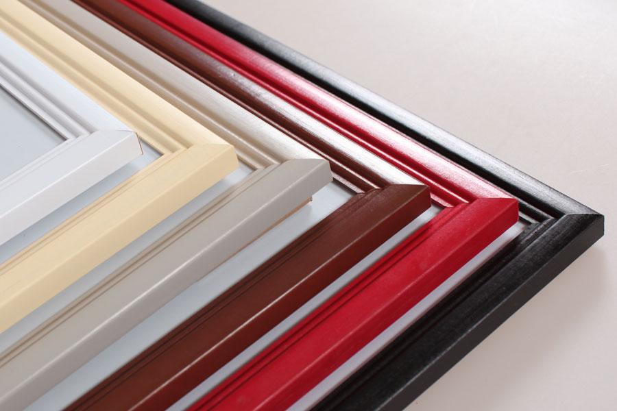 Ideal Trend Holz Bilderrahmen In 10x15 Cm Bis 40x60 Cm 6 Farben Foto Rahmen