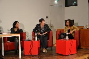 Khue Pham (DIE ZEIT), Rita Süssmuth und Naika Foroutan