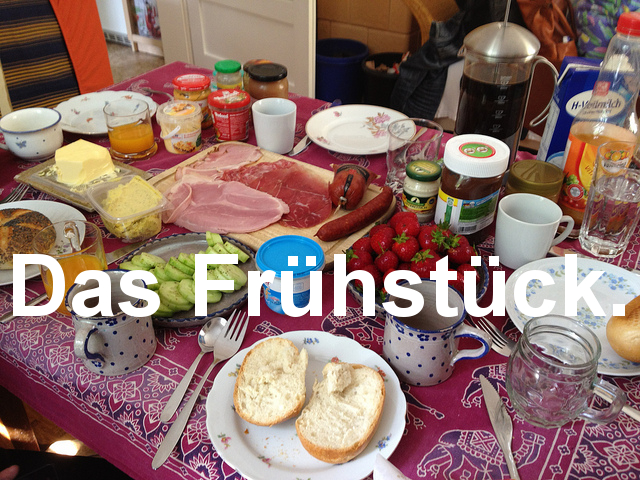 German breakfast