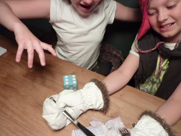 schokolade wettessen - competition chocolate eating - german kids birthday games