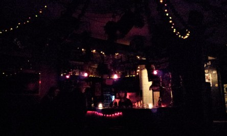 The corner of this authentic bar in Kreuzberg bar to feel the Berlin culture in real light without flash