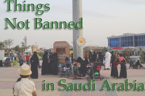 things banned in saudi