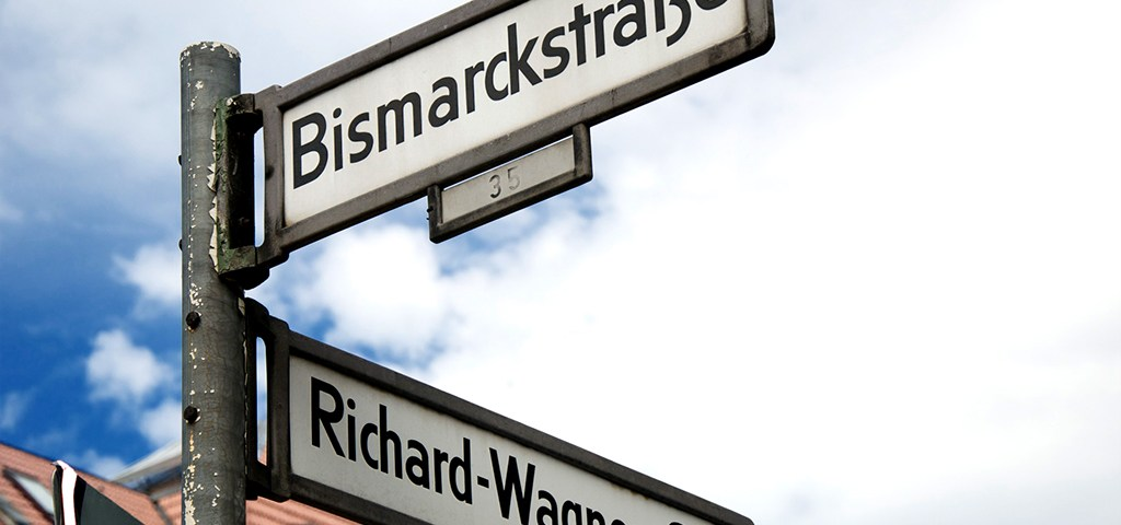 Berlin road signs