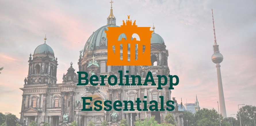 Self guided tour Berlin - BerolinApp Essentials