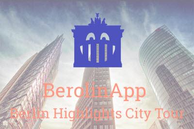 Self-guided walking tour Berlin - BerolinApp - Berlin Highlights City Tour