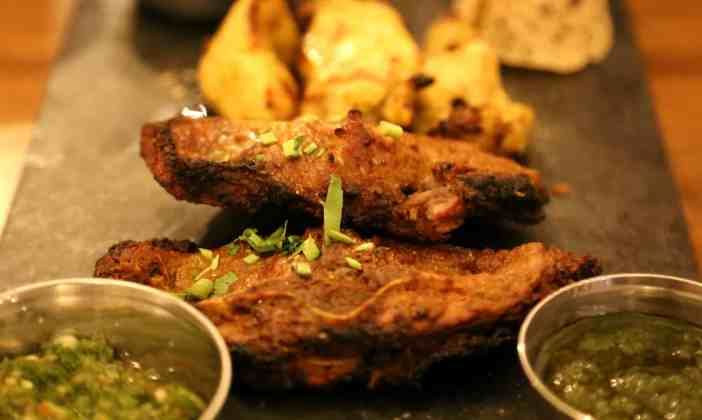 Berlin Loves You Bahadur indian restaurant lamb cutlets