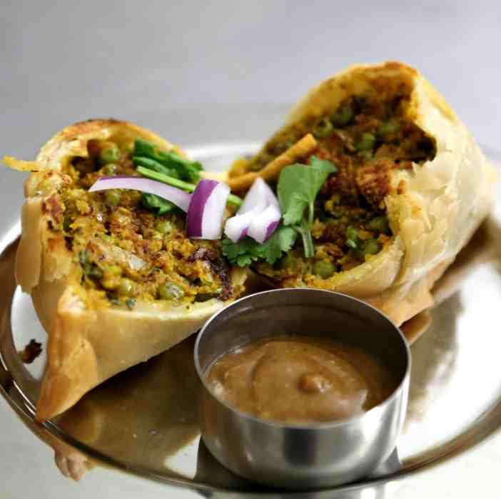Moksa India food berlin samosa
