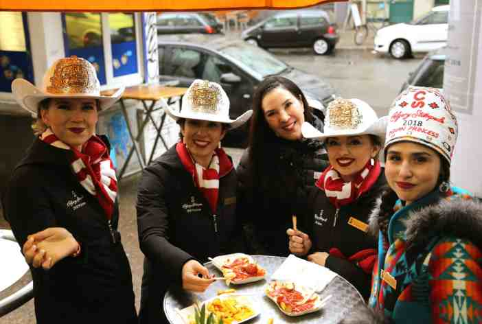 Calgary Stampede Princesses Berlin Loves You Tour