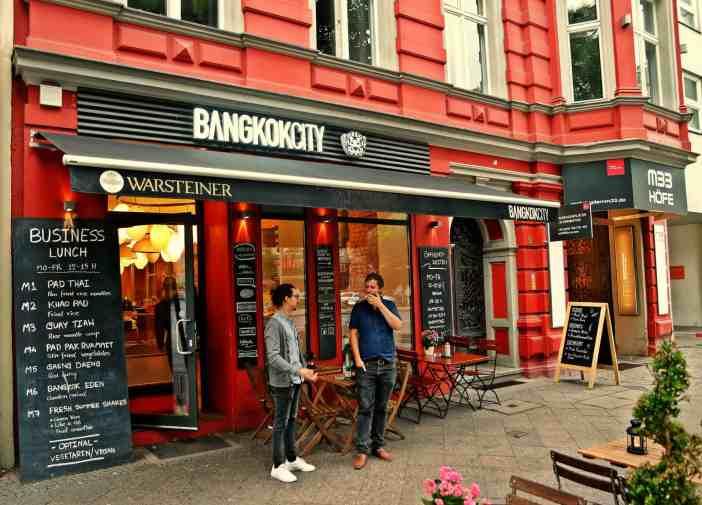 Bangkok City Berlin Front