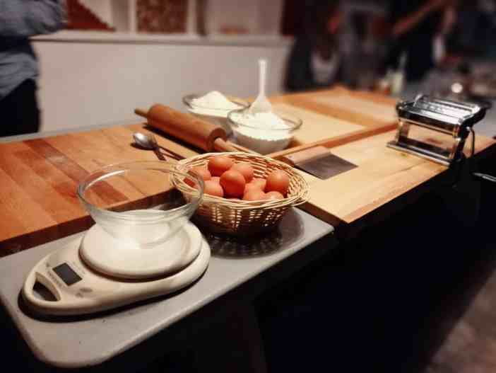 True Italian Berlin Homemade Pasta Week Pasta Making in Gina's Bistrot Pasta Ingredients