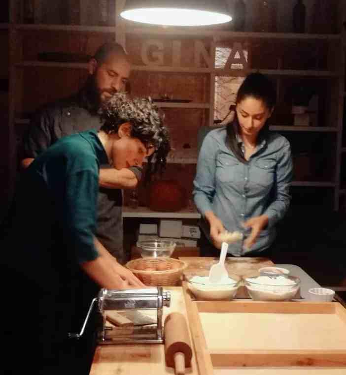 True Italian Berlin Homemade Pasta Week Pasta Making in Gina's Bistrot 1