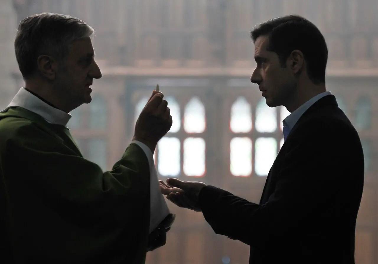 Melvil Poupaud. Grâce à dieu (By the Grace of God). Regie/director: François Ozon. Foto/photo: © Jean-Claude Moireau
