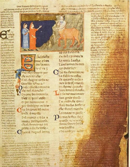 Anonimo Fiorentino, Il Minotauro ©Società Dante Alighieri