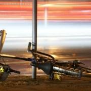 Bicicletta incidente a Berlino