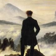 """© Il Viandante sul mare di nebbia - immagine tratta dal video del canale Youtube """"Artesplorando"""""""