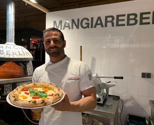 Jonathan Atzeni Pizzeria Mangiare