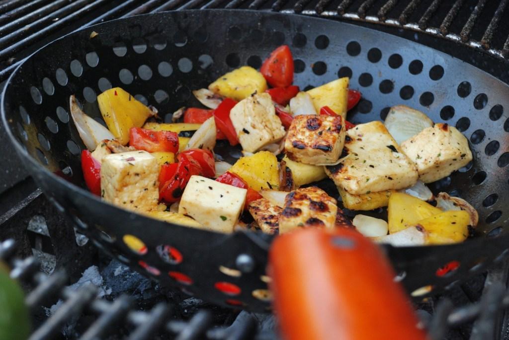 Halloumi, grillkaas bereiden, barbeque, Berloumi