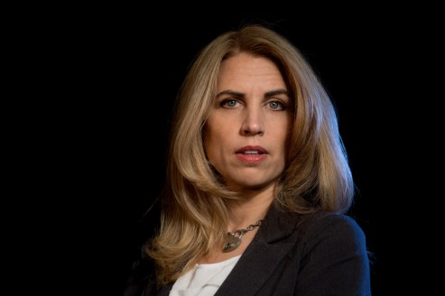 BioViva CEO Liz Parrish, photographed in Bainbridge Island, Washington. Parrish traveled to Colombia to receive experimental stem cell transplants designed to reverse signs of aging — it' was a controversial operation rebuked by some as unethical human experimentation. A colleague gave her only days to live several months ago, she said. Parrish said she believes that the issue of aging is too important for science to ignore. Photo by Daniel Berman for OZY