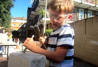 Leathermarket Community Sculpture Workshops