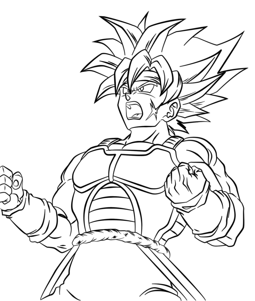 Coloring Pages Dragon Ball Z