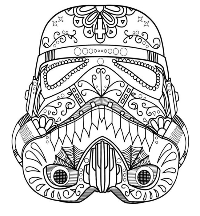 Coloriage Star Wars Vaisseau