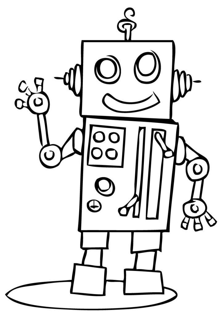 Dessin Robot Realiste