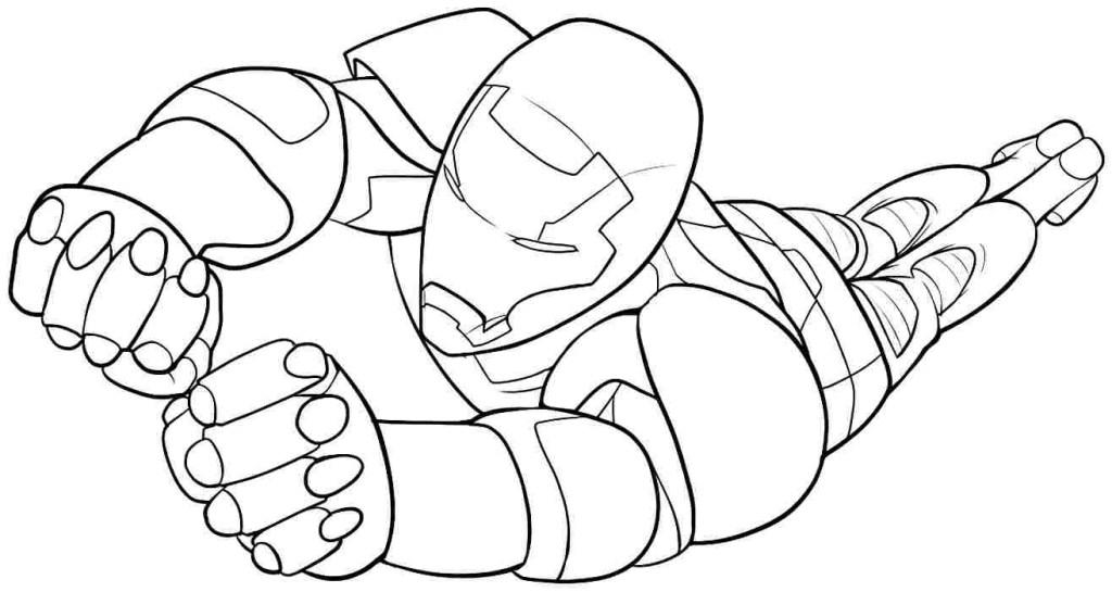 Iron Man Coloriage En Ligne Gratuit