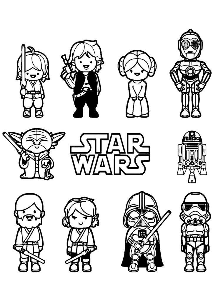 Star Wars Coloriage