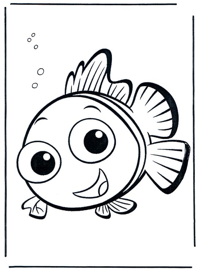 libre Coloriage Nemo