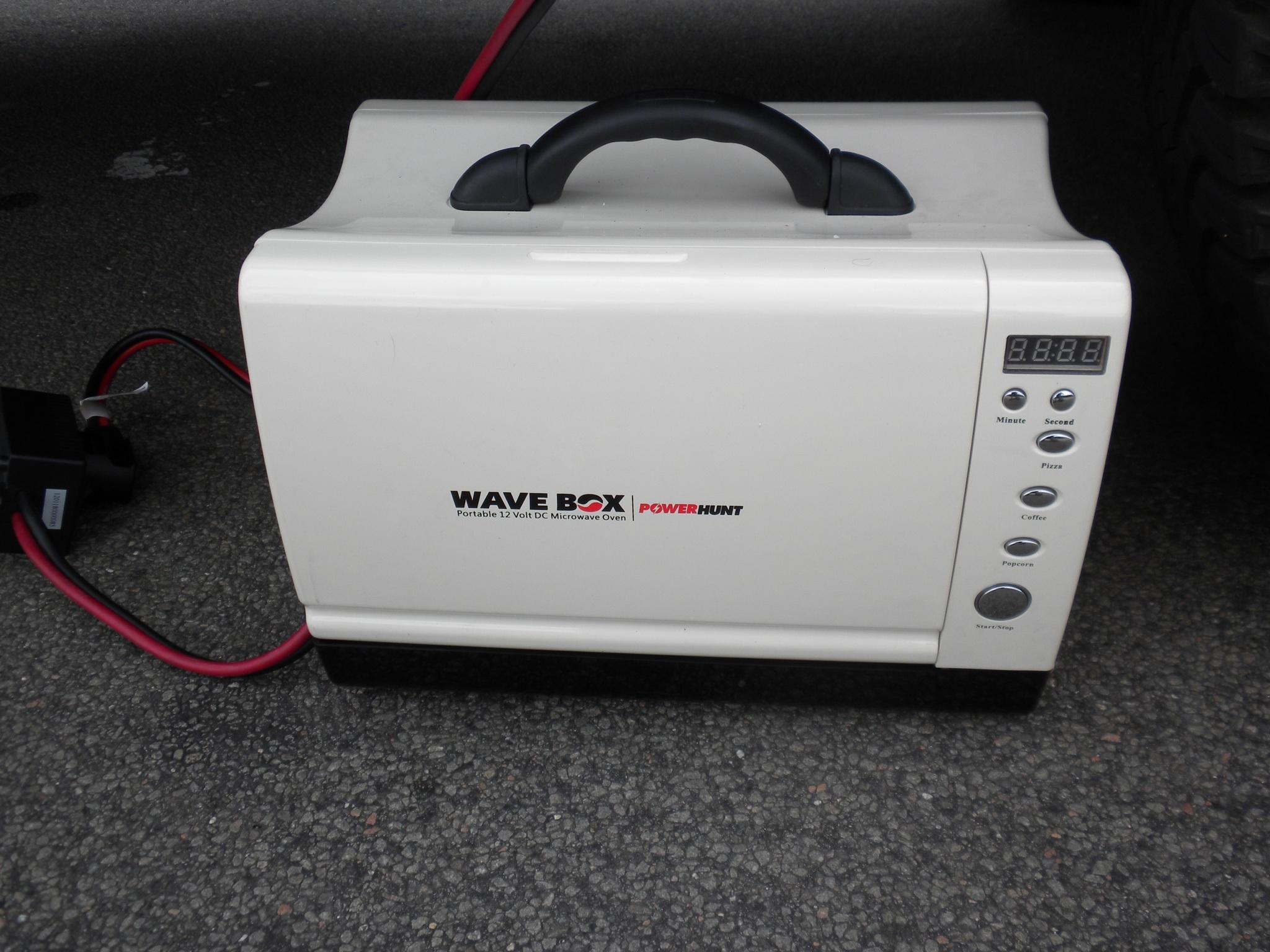 it works wavebox 12 volt microwave