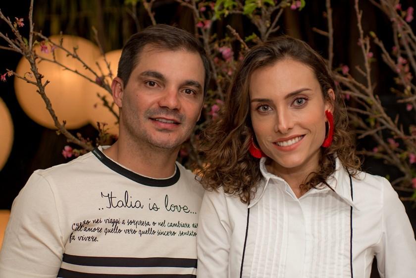 Amílcar Ribeiro e Poliana Soares
