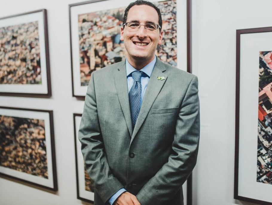 Davi Atar, secretário da Embaixada de Israel