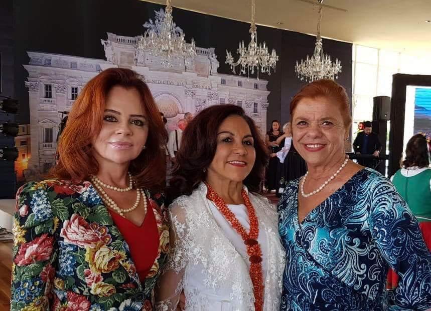 Marta Ligia, Meire Fernandes e Carminha Antoni
