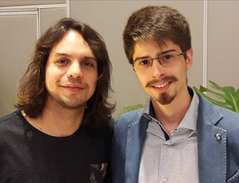 Murilo Gun e Gilbert Di Angellis