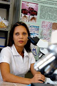 Bióloga Divina Vilhalva