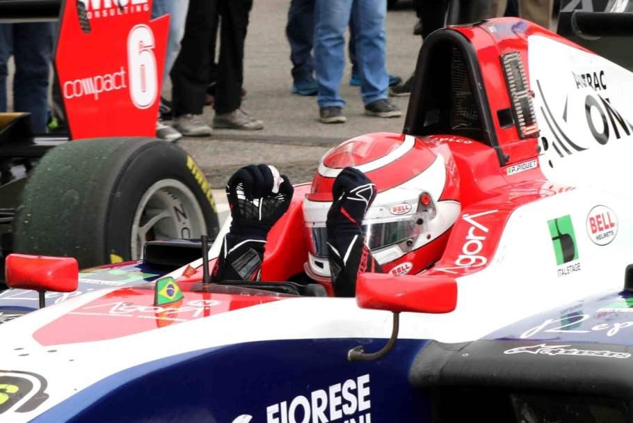 Pedro Piquet,em Monza Itália