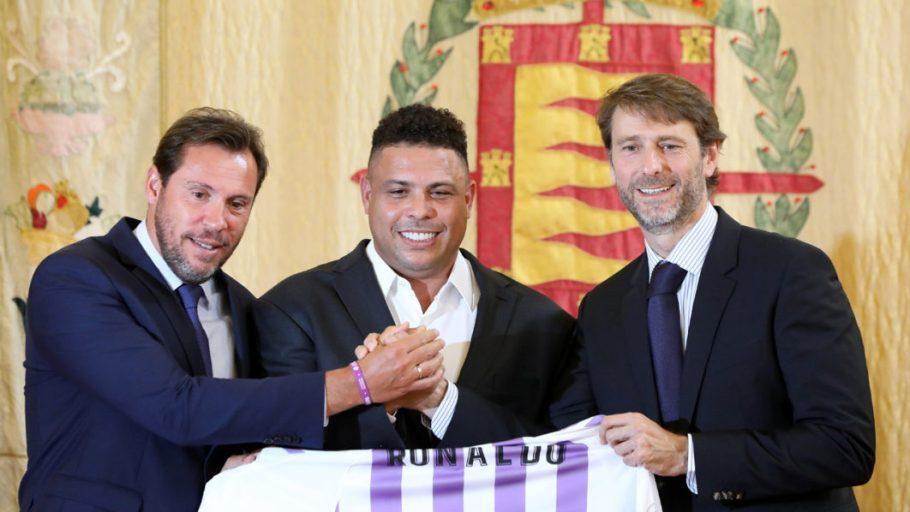 Ronaldo compra Real Valladolid