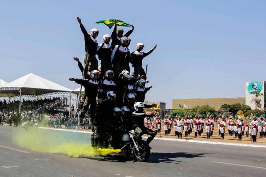 Desfile 7 de Setembro em Brasília