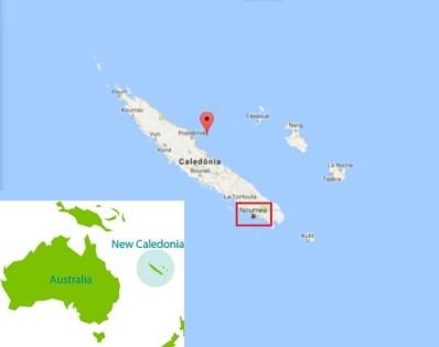 Ilha de Nova Caledônia