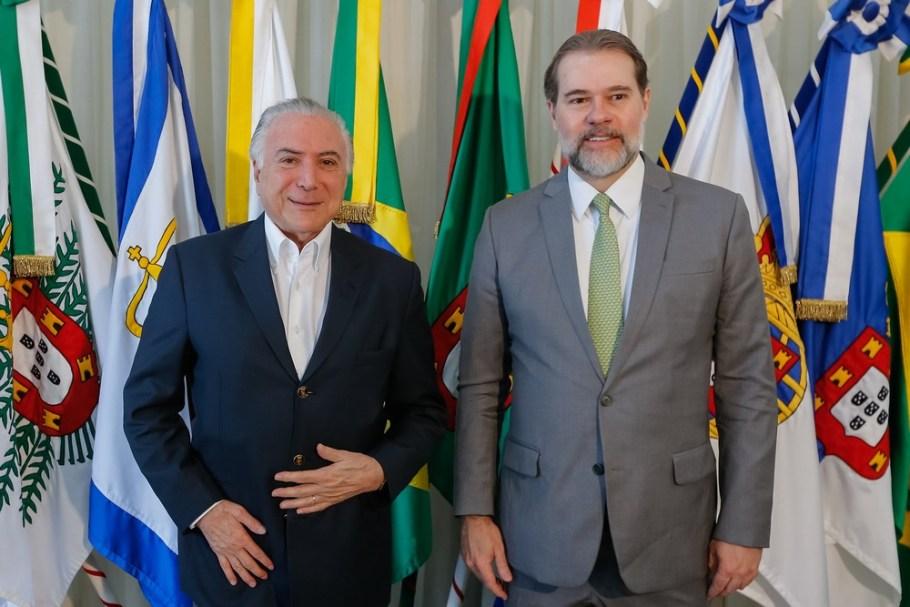 Michel Temer e Dias Toffoli