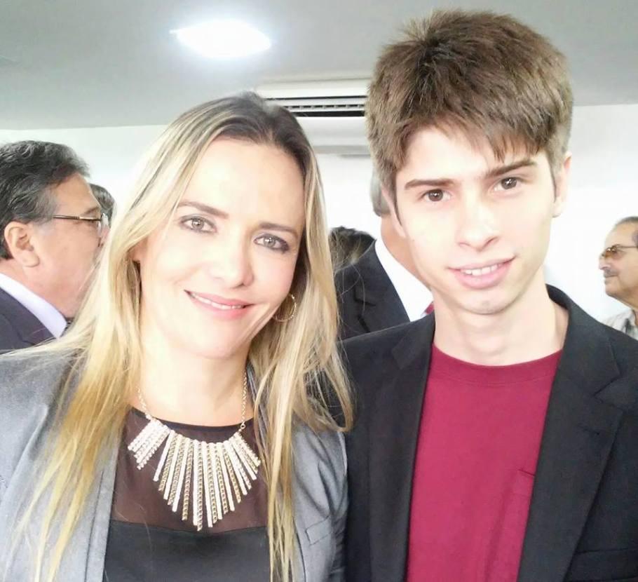 Celina Leão e Gilbert Di Angellis