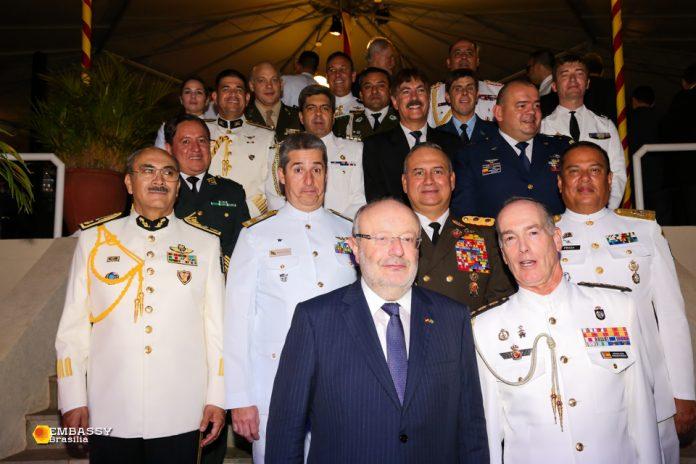 Festa na Embaixada da Espanha 2018