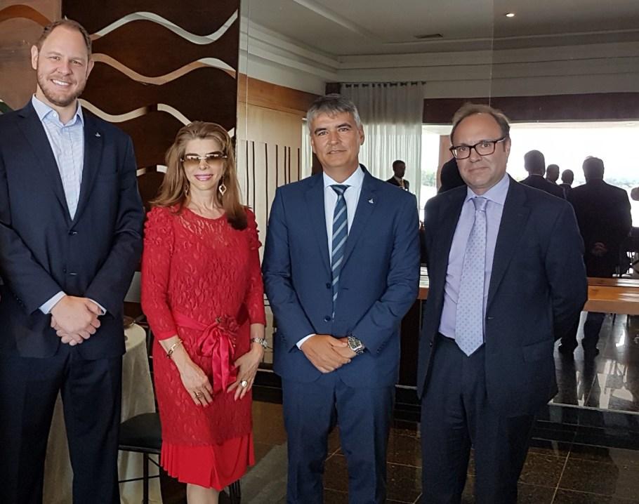 Igor Tokarski, Bernadete Alves, Sergio Sampaio e Jaime Nadal Roig, Rep. do UNFPA no Brasil
