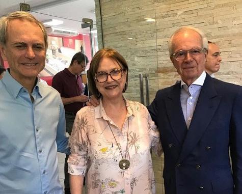 Paulo Octávio, Cláudia Pereira e Pedro Gordilho