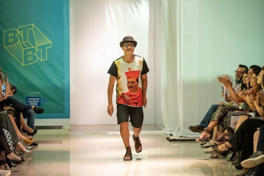 Estilista Rodrigo Fraga no Brasília Trends