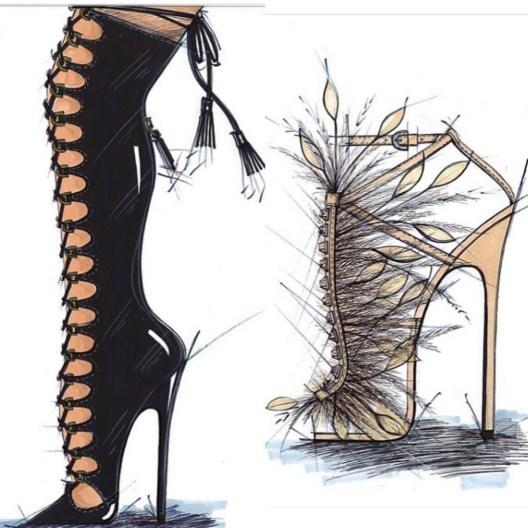 Sapatos Brian Atwood para Victoria'a Secret