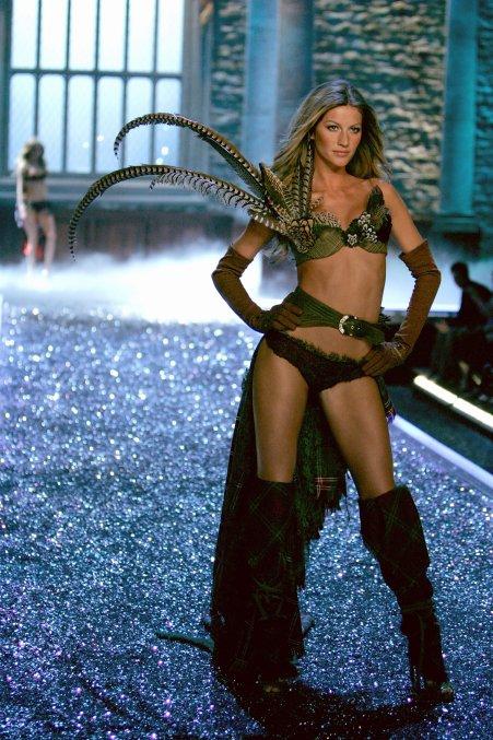 Angel Gisele Bündchen para Victoria'a Secret