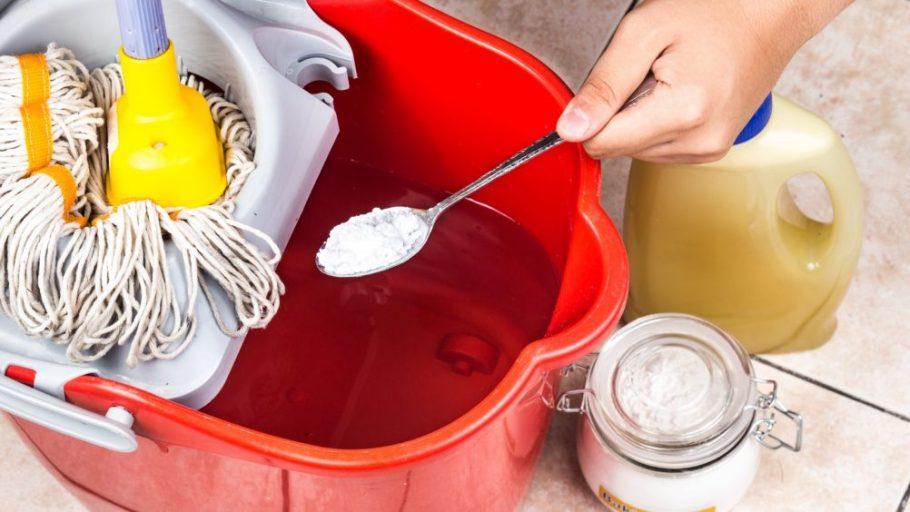bicarbonato para limpeza